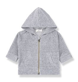 1 + in the family 1+ in the family Oliver hood jacket blue