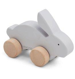 Liewood Liewood Elena wood toy rabbit dumbo grey