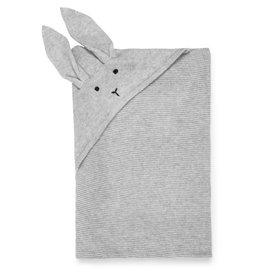 Liewood Liewood Marley knit blanket rabbit dumbo grey