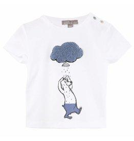 Emile et Ida Emile et Ida t-shirt ecru nuage