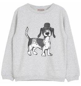 Emile et Ida Emile et Ida sweatshirt gris chine chien