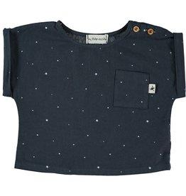 My Little Cozmo my little cozmo shirt organic stars dark blue