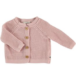My Little Cozmo my little cozmo cardigan knit soft pink