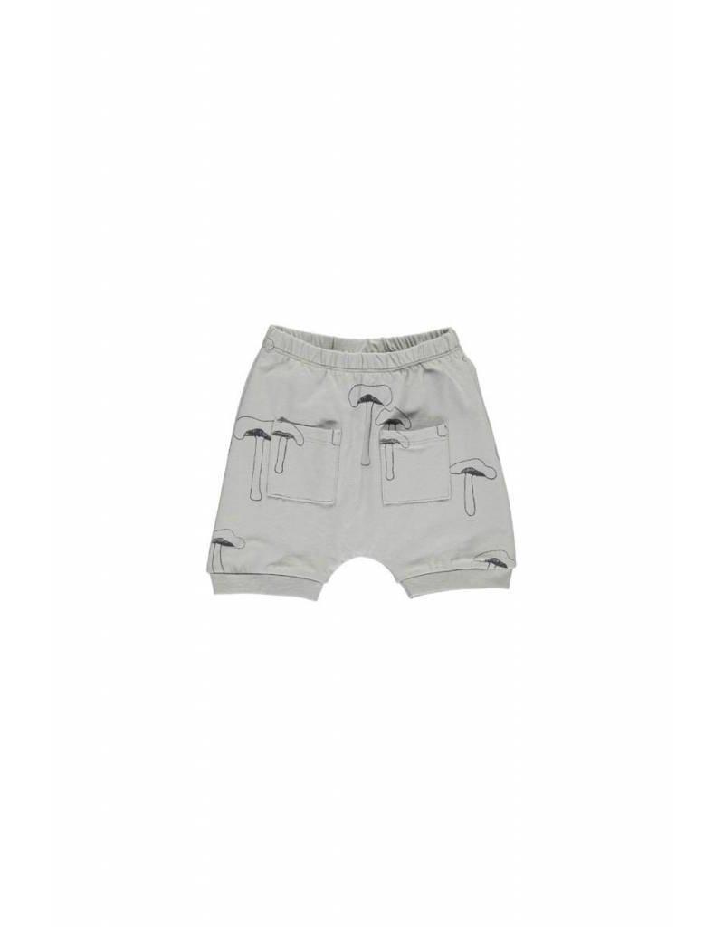 Gro Gro Drini baby shorts moss grey