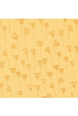Gro Gro Anika flounced baby dress deep golden