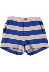 Bonmot Bonmot short wide stripe print rose blue