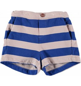 Bonmot Bonmot short wide stripe print rose blue