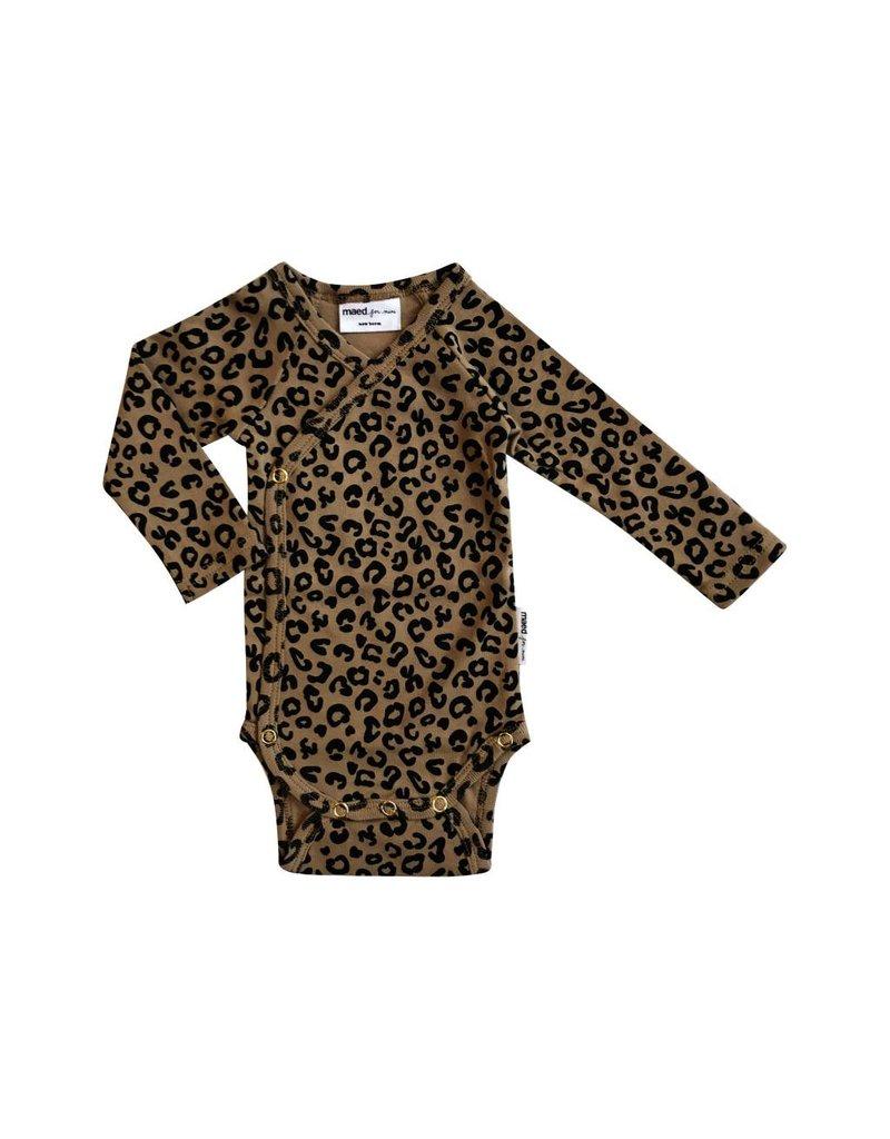 maed for mini maed for mini wrap body brown leopard