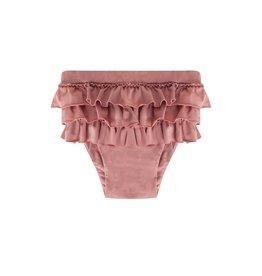 maed for mini maed for mini ruffle swim shorts funky flamingo