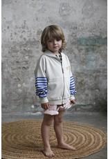 Bonmot Bonmot hoodie monsieur positif sleeve stripes mushroom