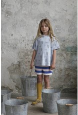 Bonmot Bonmot t-shirt monsieur positif blue lagoon