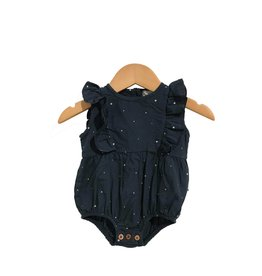 My Little Cozmo my little cozmo jumpsuit organic stars dark blue