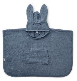 Liewood Liewood Orla badponcho rabbit blue wave