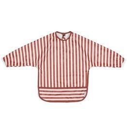 Liewood Liewood Merle cape slab stripe rusty/creme de la creme