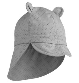 Liewood Liewood Gorm sun hat little dot dumbo grey