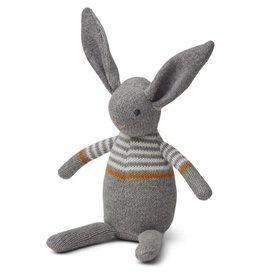 Liewood Liewood Vigga knit mini teddy rabbit grey melange