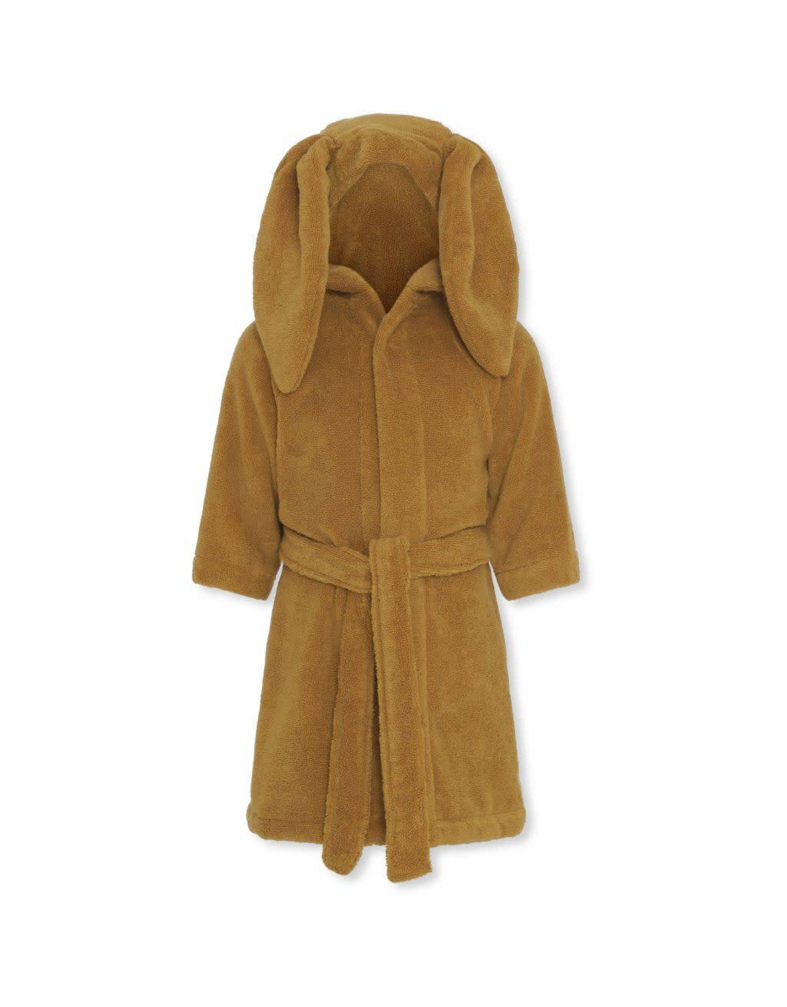 Konges Slojd Konges Slojd kids terry bathrobe mustard