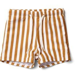 Liewood Liewood Otto swim pants stripe mustard/creme de la creme