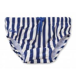 Liewood Liewood Frej baby boy swim pants stripe navy/creme de la creme