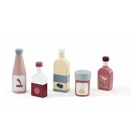 Kid's Concept Kid's Concept speelset flessen voor keukentje
