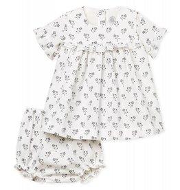 Petit Bateau Petit Bateau Babe robe + bloomer