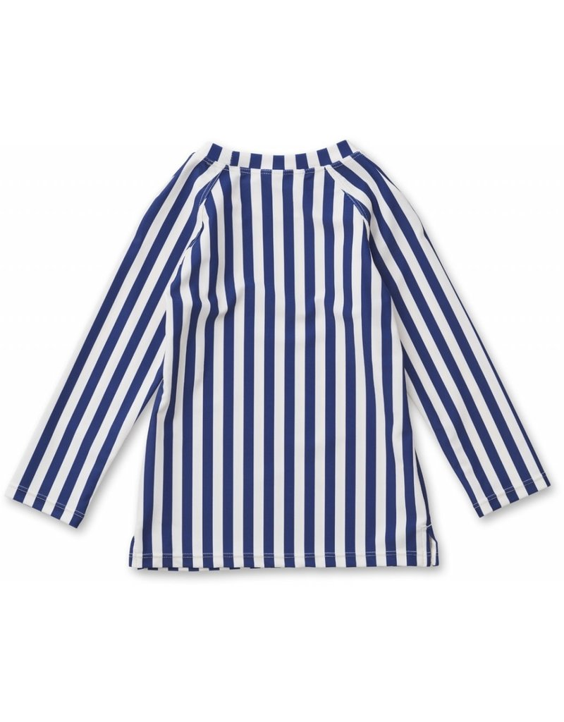 Liewood Liewood Noah swim tee stripe navy/creme de la creme