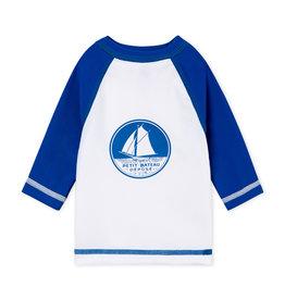 Petit Bateau Petit Bateau Belier anti-uv t-shirt blauw