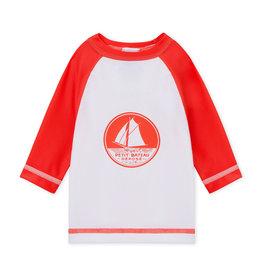 Petit Bateau Petit Bateau Belier anti-uv t-shirt rood