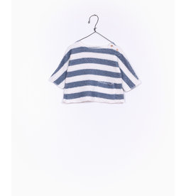 Play Up Play Up striped fleece sweater girl