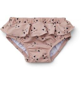 Liewood Liewood Elise baby girl swim pants cat rose