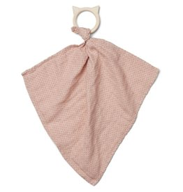Liewood Liewood Dines teether cuddle cloth little dot rose