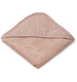 Liewood Liewood Sheila hooded towel little dot rose