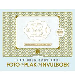 Lannoo Lannoo Mama Baas Babyfoto-Plak-Invulboek