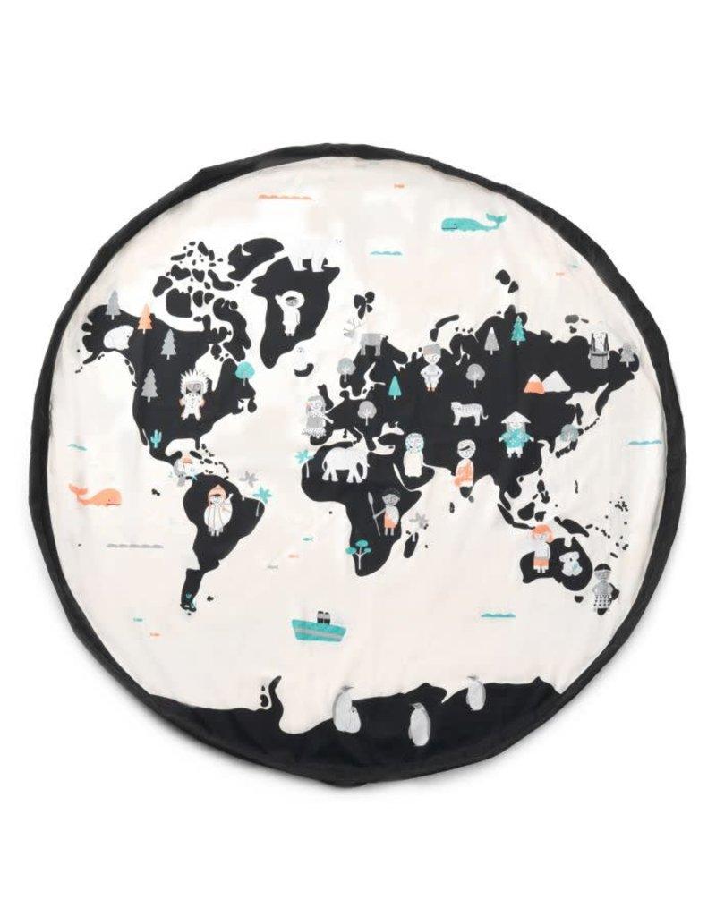 Play&Go Play&Go opbergzak worldmap