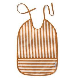Liewood Liewood Lai slab stripe mustard/creme de la creme