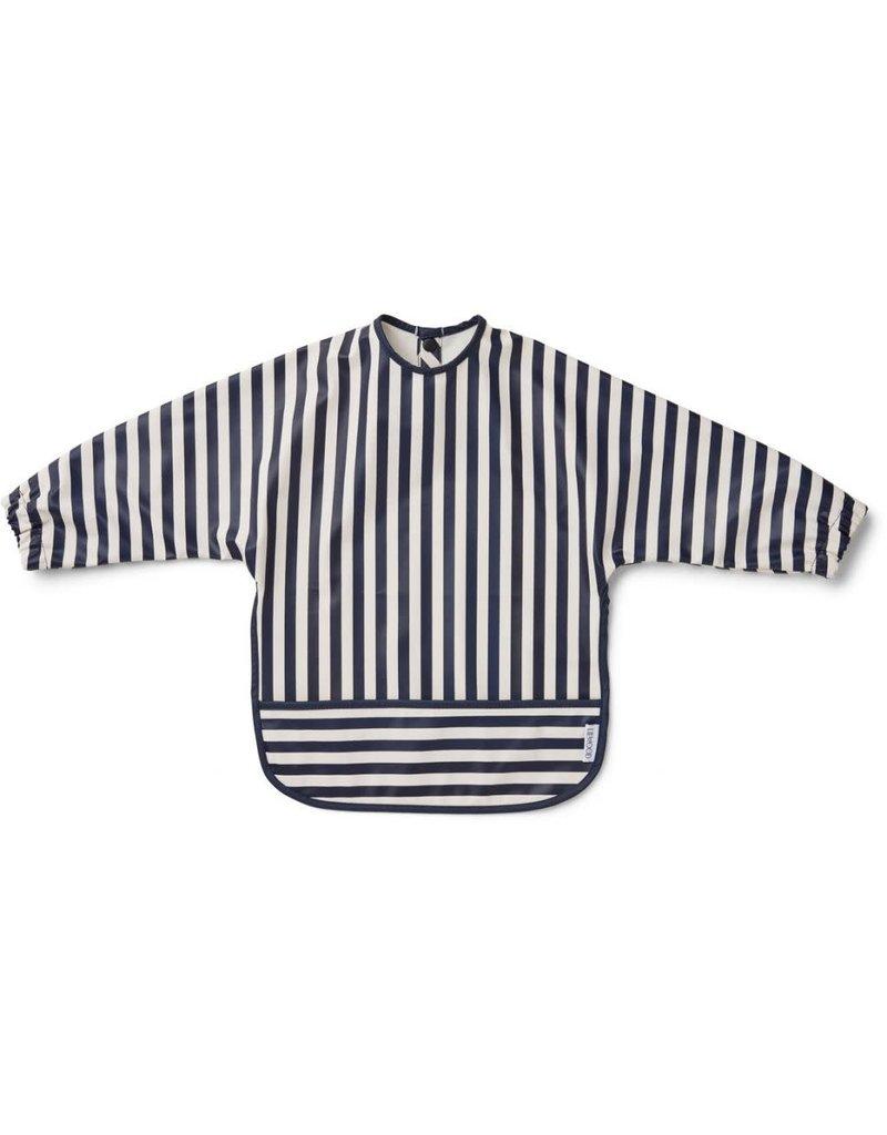 Liewood Liewood Merle cape slab stripe navy/creme de la creme