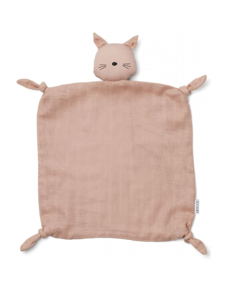 Liewood Liewood Agnete cuddle teddy cat rose