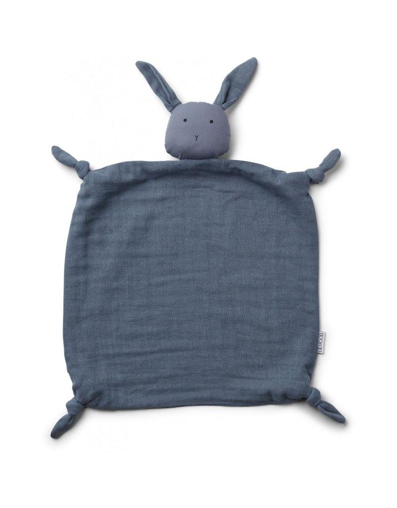 Liewood Liewood Agnete cuddle teddy rabbit blue wave