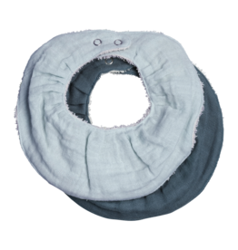 Fabelab Fabelab ruffle slab 2-pack sea