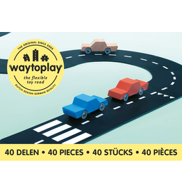 Waytoplay Waytoplay autobaan king of the road 40-delig