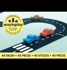 Waytoplay Waytoplay autobaan king of the road 40-delig