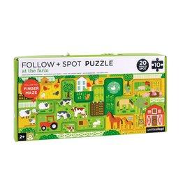 Petit Collage Petit Collage puzzel 10-delig boerderij