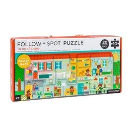 Petit Collage Petit Collage puzzel 10-delig huis