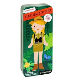 Petit Collage Petit Collage magnetic dress up travel natuur