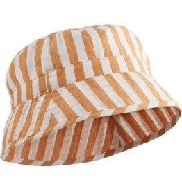 Liewood Liewood Jack bucket hat stripe mustard/creme de la creme