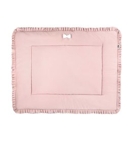 House of Jamie House of Jamie boxkleed (omkeerbaar) powder pink + stone 75x95