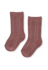 Konges Slojd Konges Slojd Fuma sock pointelle cameo rose
