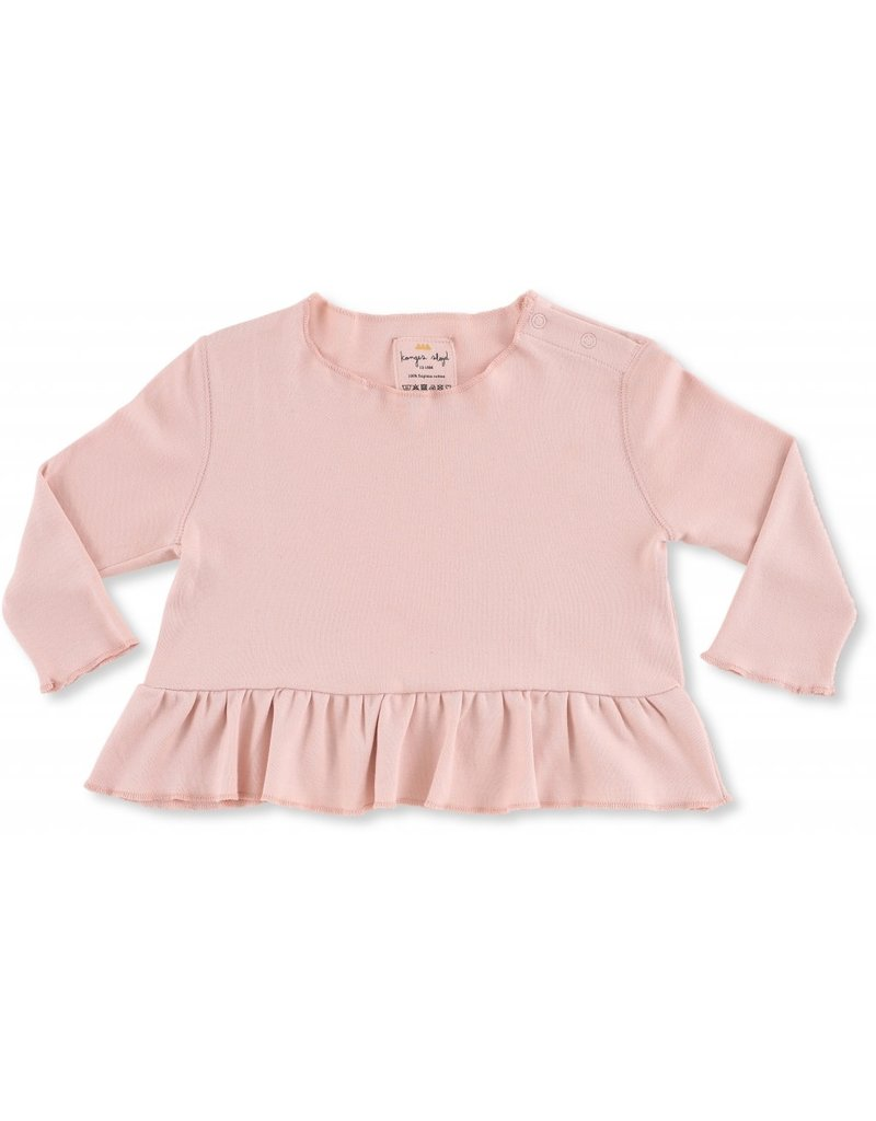 Konges Slojd Konges Slojd ebi frill blouse cameo rose