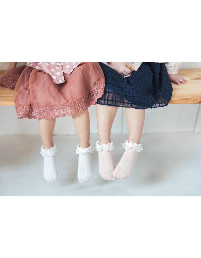 Mama's Feet Mama's Feet kousjes dandies white