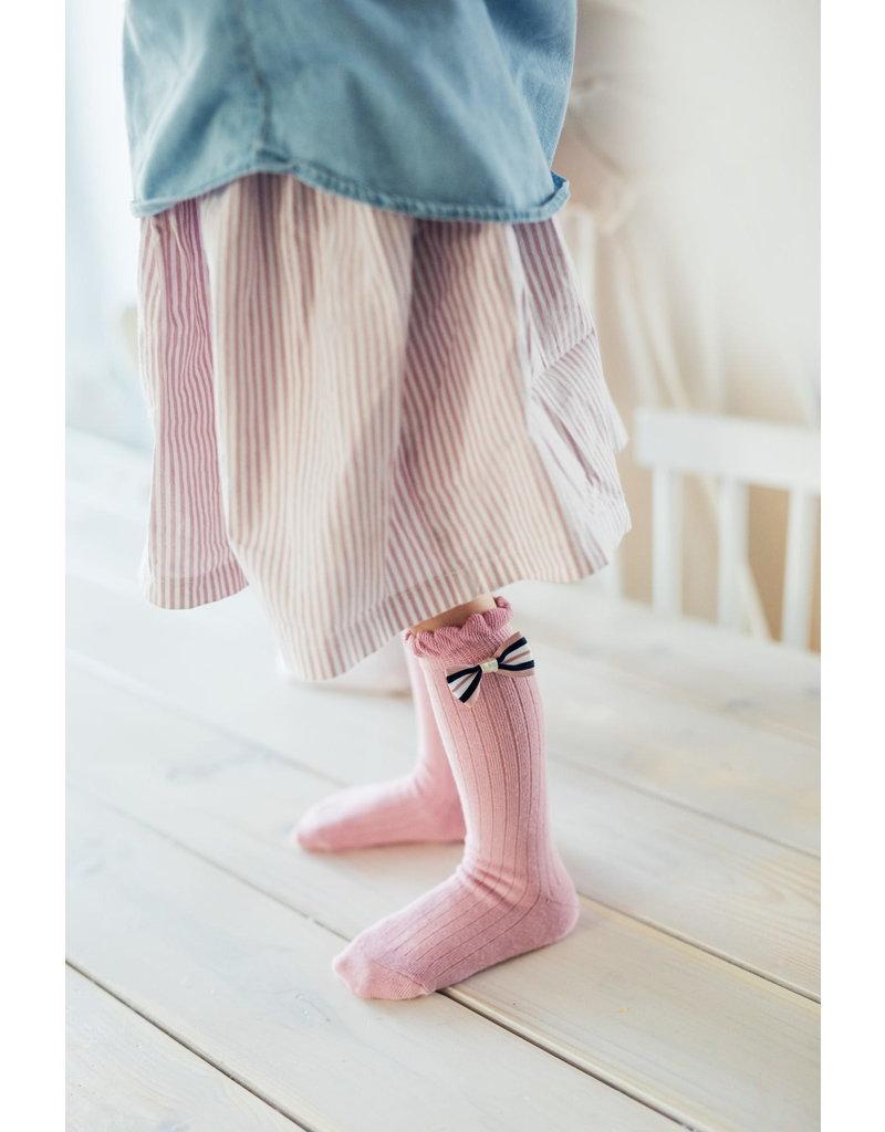 Mama's Feet Mama's Feet kniekousjes little princess grey